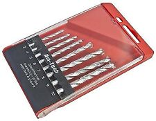 Amtech 8pc Masonry Drill Bit Set