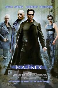 "The Matrix - Movie Poster (Regular Style) (Size: 24"" X 36"")"