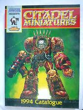 CITTADELLA Minatures 1994 catalogo/collezionisti Guide/Games Workshop/