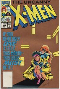 UNCANNY X-MEN #303 Gold Cover 2nd Print Variant 1993 Marvel Fine-
