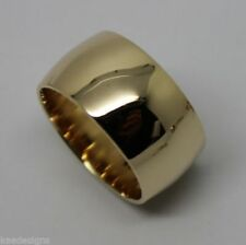 Yellow Band White Gold Fine Rings