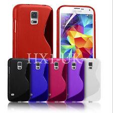 S Line Ola Funda Gel para Samsung Galaxy S5 & S5 Neo Protector de pantalla