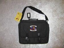 Nwt Vtg Ironman Madison Annual Triathlon Black Shoulder Laptop Brief Book Bag