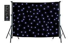 NJD Stand Mounting Star Cloth Kit (3 x 2 m) Black including stand