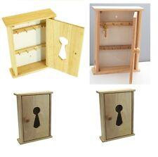 MURO in legno di faggio Legno Chiave Armadio Armadio Rack Titolare Storage Box 8 Ganci