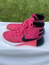 Nike Hyperdunk 2015 Pink Breast Cancer Think Pink 749561-606 Basketball Shoes 12