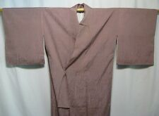 "Vintage Japanese Iromuji Kimono Woman's Tea Ceremony Robe Silk ""Mauve Beauty"""