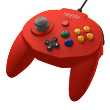 Retro-Bit Tribute64 USB Controller for the Nintendo Switch, PC, Steam - Red