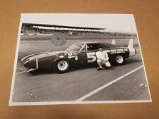 Buddy Arrington 1969 Dodge Daytona 8 X 10 Photo 1970 Daytona 500