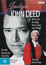Martin Shaw JUDGE JOHN DEED Season 1 Brand New but UNSEALED 3-DVD Set Region 4