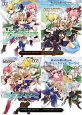 Sword Art Online GIRLS OPS Series MANGA Reki Kawahara Paperback Collection 1-4