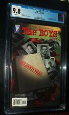 THE BOYS #2 2006 DC/Wildstorm Comics CGC 9.8 NM/MT White Pages