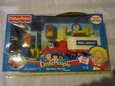 Fisher Price Little People Walmart Super Center Big Rig Set New In Box