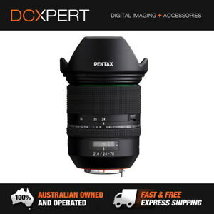 PENTAX HD PENTAX-D FA 24-70mm F2.8 ED SDM WR ZOOM LENS (21310)