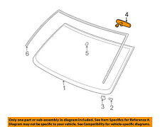 GM OEM Inside-Rearview Rear View Mirror 25603373