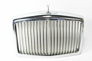 BENTLEY MULSANNE  RADIATOR GRILLE 1987 HOOD GRILL AND EMBLEM