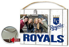 Kansas City Royals Clip It Weathered Logo Photo Frame [NEW] MLB Picture