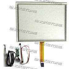 "8"" inch 4 WIRE RESISTIVE TOUCH PANEL + USB PORT CONTROLLER BOARD KIT DIGITIZER"