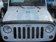 JEEP WRANGLER JK Tinted Bug Deflector W/Logo NEW OEM MOPAR