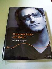 """MICKHA ASSAYAS """"CONVERSACIONES CON BONO"""" LIBRO 392 PAGINAS U2"""