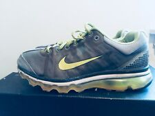 2009 Womens Nike Air Max 09' Grey Volt White Size 9 Used Rare Running