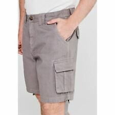 SoulCal Mens Cal Utility Shorts Cargo Pants Trousers Bottoms Size Large L *REF54