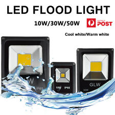 10W 30W 50W LED Flood Light AC/DC12V Outdoor Lighting Landscape Path Waterproof