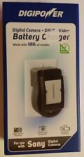 Digipower battery charger for Sony Digital Cameras DSLR & Video Cameras QC-500S