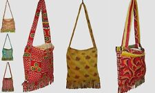 Vintage Kantha Cotton Bag Handmade Indian Women 5Pc Designer Shoulder Tote Bag