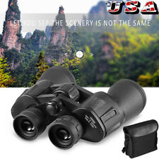 10KM Day Night Vision Binoculars Outdoor 10X50 Travel Telescope w/ Bag Set US