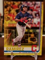 Jose Ramirez 2018 Topps Series 1 YELLOW PARALLEL Card #223 INDIANS WALGREENS