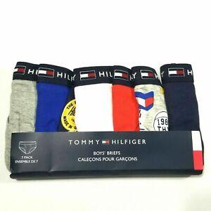 Tommy Hilfiger Kids Brief Underwear 7Pk 100% Original New
