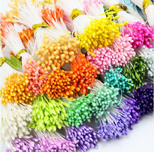 900pcs 1mm Random Mixed colors DIY pearl flower stamen pistil floral stamen