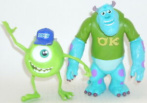 Disney's Monsters University SULLEY & MIKE WAZOWSKI Action Figure COMPLETE Scare