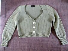 310£!CURRENT COLLECTION JUICY COUTURE CROPPED CARDIGAN SIZE S