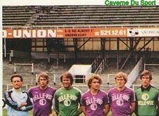 313 EQUIPE TEAM RSC.ANDERLECHT BELGIQUE STICKER FOOTBALL 1980 BENJAMIN RARE NEW