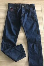 """Crosshatch Gamitto Dark Blue Mens Designer Jeans Waist 30-34"""" See Description"""