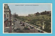 SCOTLAND  -  DENNIS  &  SONS  POSTCARD  -  PRINCES  STREET  EDINBURGH  -  1954