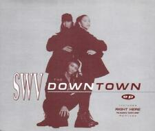 SWV - Downtown EP (4 trk CD / Right Here / 1994)