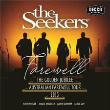 THE SEEKERS - Farewell: The Golden Jubilee Australian Tour 2013 CD *NEW* 2019