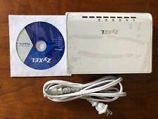 ZyXEL PLA470v2 Powerline 4-port Ethernet Adapter Up to 200Mbps