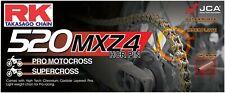RK GB520MXZ4 Heavy Duty Gold MX Race Motocross Supercross Chain - 520 / 120 Link