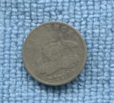 1910 Australia Sterling Silver Sixpence 6P Coin O-119