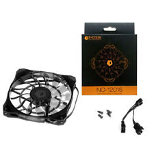 ID-COOLING NO12015 Silent 12cm Super Thin 1.5cm 4Pin Computer PC Case CPU Fan US