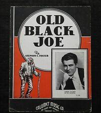 "1940 ""Old Black Joe"" Stephen Foster Black Americana Sheet Music Orrin Tucker"