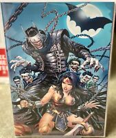DARK NIGHTS METAL #6 Unknown Comics Tyler Kirham Exclusive Virgin Variant *NM*