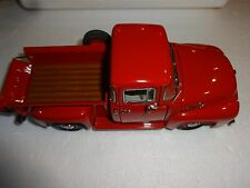 DANBURY MINT 1956 FORD VERMILLION F-100 HALF TON PICKUP TRUCK 1:24