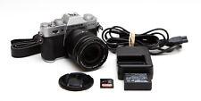 Fuji Fujifilm X-T10 Kit XT10 XT-10 Mirrorless Cam + XF 18-55mm R LM OIS SILVER