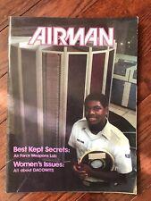 "Vintage Air Force Magazine ""THE AIRMAN"" - April 1982 - 2 copies of same magazine"