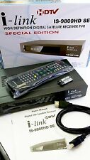 i-Link IS 9800 HD SE(Special Edition) FTA Satellite Receiver MODULE NOT INCLUDED